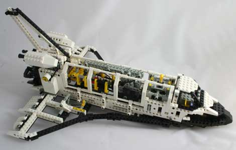 space shuttle lego technic - photo #13